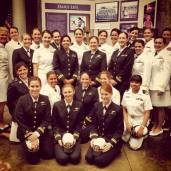 Incredible group of female aviators present for Valerie's funeral